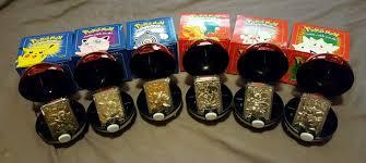 Pokémon Burger King 1999 POLIWHIRL blue box unopen 23 k gold plated movie  Pokémon Individual Cards Toys & Hobbies