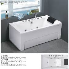 bathtubs with hydromassage jacuzzi function