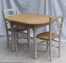 ... Small Solid Pine Extending Painted Table With 2 Chairs Dining  Exceptional Pictures 88 Design Home Decor ...