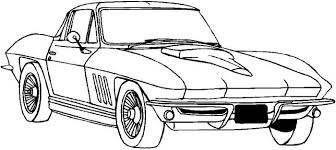 Small Picture late seventies corvette stingray coloring pages coloring pages