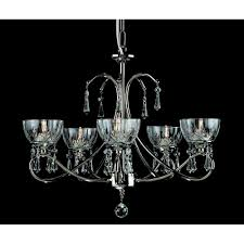 vincenza 5 light chandelier ceiling light with crystal detail