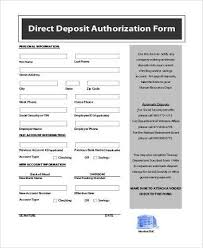 Social Security Direct Deposit Form Delectable Social Security Direct Deposit Form Samples 44 Free Documents In PDF