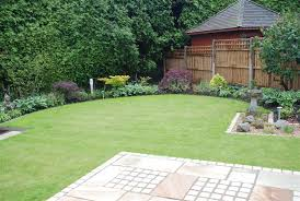 Small Picture Curving lawn with mint sandstone patio Pinterest Small