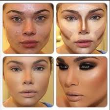 contouring makes an insane difference the only problem is with serious contouring is you have to be willing to wear as much make up as a drag queen