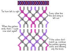 How To Read Friendship Bracelet Patterns