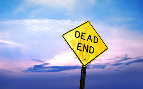 Image result for images of a dead end sign