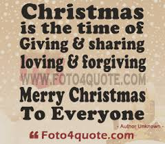 Quotes for christmas Christmas cards It's time for giving forgiving and loving Foto 76