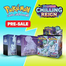 Catch - Catch em' all with our pre-sale Pokémon TCG Sword & Shield Chilling  Reign trading cards! 👾 Limited stock available - Coming 18th of June!  Unleash your Pokémon: https://catch.app.link/c58E1CJqrfb