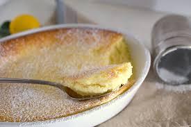 Meyer Lemon Souffle Cake – the Egg Farm