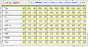 Year Budget Spreadsheet Example Yearly Budget Spreadsheet Sample Of Free Pianotreasure