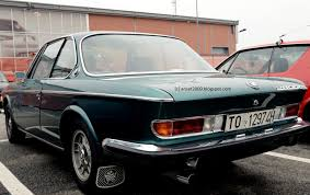BMW 2800 CS 1968-75 seen in Turin at