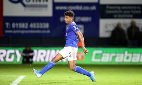 Leicester city football club is a professional football club based in leicester in the east midlands, england. Luton 0 4 Leicester James Justin Haunts Former Club As Foxes Run Riot Against Hatters Daily Mail Online
