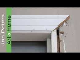 how to install window door trim casing made simple