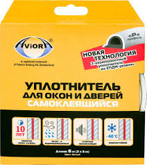 "<b>Уплотнитель</b> ""<b>Aviora</b>"", <b>резиновый</b>, Р-<b>профиль</b>, цвет: белый, 9 мм ..."