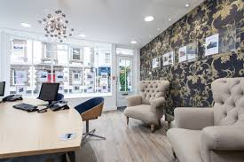 estate agent office design. Estate Agent Office Refurbishment And Wall Decorating Design