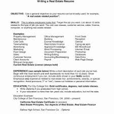 Resume Objectives Examples Fresh Example Of Resume Objectives ...