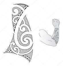 татуировки маори дизайн татуировки маори векторное изображение