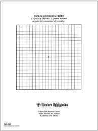 Types Of Amsler Grid Chart Amsler Grid Pad Recording Chart With White Background