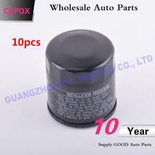 Toyota Oil Filter Chart Capqx 10pcs Wholesale Oil Filter Finder 90915 Yzzj3 For Toyota Hilux 2 4 2 7 Engine 2rz E 2tr Fe 2kd Ftv 2gd 2005 2018