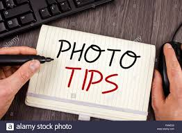Words Writing Texts Photo Tips Business Concept For Suggestions To Take Good Pictures Advices Great Photography