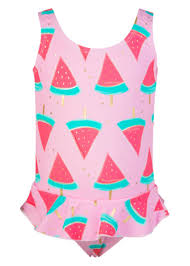 Watermelon Skirt Swimsuit - Baby Girls - BABY - Snapper Rock