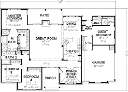 First story  bedroom house plans and One story homes on Pinterest