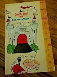 Wheat Growth Chart Vintage 1960s 70s Nabisco Premium Cream Of Wheat Paper
