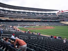 Twins Stadium Seating Chart Target Field Section 102 Seat Views Seatgeek