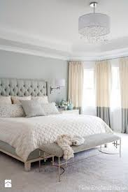 bedroom design for women. Gray, White, And Tan Bedroom. Great Two Tone Curtains Upholstered Headboard! Love The Softness Of Neutral Colors Bedroom Design For Women U