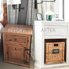 white washed pine furniture. How To Whitewash Dated Pine Bedside Tables With White Chalk Paint For A  Fresh Farmhouse Look Washed Furniture 1