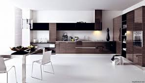 inspiring kitchen designs. elegant two tone kitchen cabinets with under cabinet lighting and tile flooring plus white parson chair inspiring designs