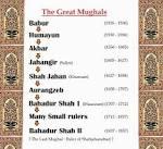 Mughals History