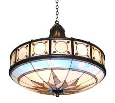 stained glass chandelier compass canada