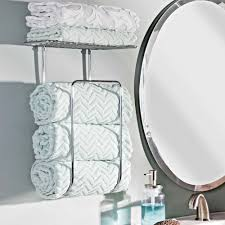 hand towel holder for wall. towel holder wall mount bathroom storage rack chrome bath hand towels shelf for