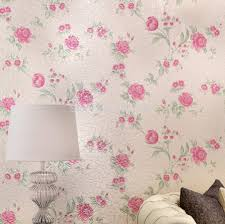 Purple Flower Wallpaper For Bedroom Online Get Cheap Purple Flocked Wallpaper Aliexpresscom
