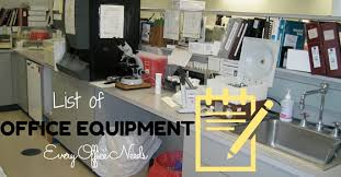 List Of Office Equipment That Every Office Needs Wisestep