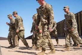Image result for اعزام هزاران سرباز آمریکایی به مرز مکزیک