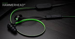 <b>Wireless Gaming Earphones</b> with Mic - Razer Hammerhead BT