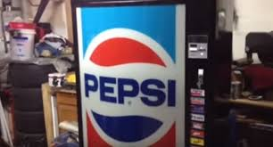Small Pepsi Vending Machine Fascinating You'll Never Guess What's Inside This Pepsi Vending Machine