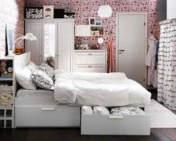 Small Picture Beautiful Small Apartment Bedroom Storage Ideas Bedroom
