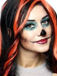 skelita s makeup for al s costume