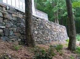 rock wall construction