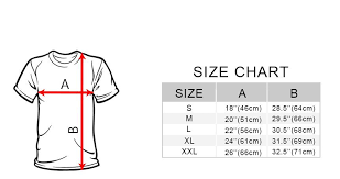 Sparco T Shirt Size Chart