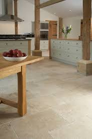 modern kitchen floor tile. Contemporary Country Barn Conversion Kitchen With Tumbled Aspendos Travertine Floor Tiles; This Is More Of A Stone, Natural Look-too Light? Modern Tile