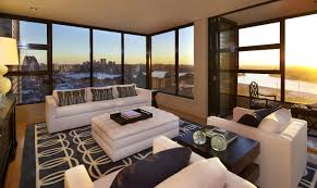 Large Living Room Regtangular Black Leather Coffe Table Storage Large Living Rooms