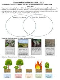 Primary Succession And Secondary Succession Venn Diagram Day 2 Ecology Ecosystem Stability And Changes Ppt Download