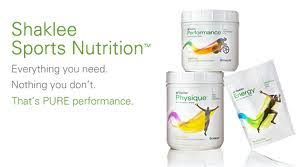 sports nutrition with shaklee s