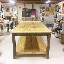 creating an art studio basement art
