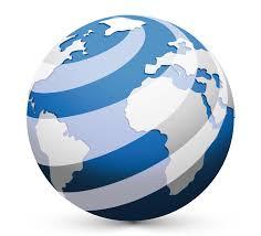 Design Free Logo: Online 3D Globe Logo Template