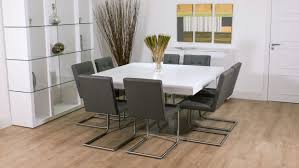 large square dining room table. Delighful Square Large Square Dining Table Seats 12  Round Seater Of  With Seat Pictures To Room